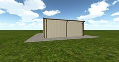 3D #architecture via @themuellerinc http://ift.tt/2h6OntR #barn #workshop #greenhouse #garage #DIY