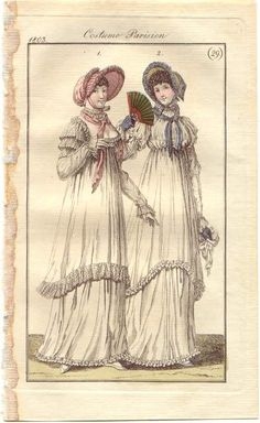 Half-robes, French, 1803.