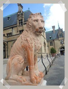 Biltmore Lion Statue