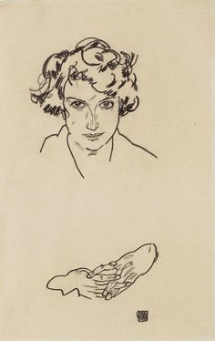 cultivating-culture:  Your daily morning art: Egon Schiele, Portrait of a Girl (1917)
