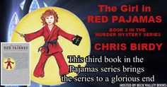 The Girl in Red Pajamas by Chris Birdy (Pajama Trilogy Book 3) book tour badge