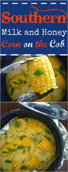 Southern Milk and Honey Corn on The Cob