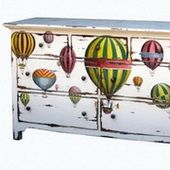 Adorbs.  Steven Shell Furniture is on sale at One Kings Lane today (and I still can't afford it).