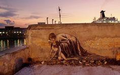 Beautiful work in Naples, Italy by Italian artist Zilda #Naples #Italy #Zilda