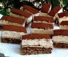 A legfinomabb sütim lett Hungarian Desserts, Hungarian Recipes, Czech Recipes, Ethnic Recipes, Eat Pray Love, Desert Recipes, Cake Cookies, Nutella, Tiramisu