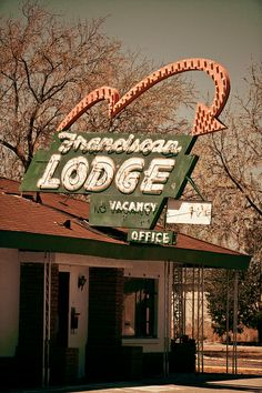 Franciscan Lodge - Route 66 by TooMuchFire, via Flickr