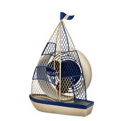 Figurine Fan - Sailboat  by Deco Breeze