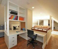 Great 2nd floor office area. (Theres a bedroom hidden behind there).