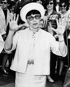 """A designer is only as good as the star who wears her clothes."" – Edith Head"