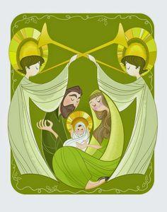 Pinzellades al món: Nadal-naixement Jesús