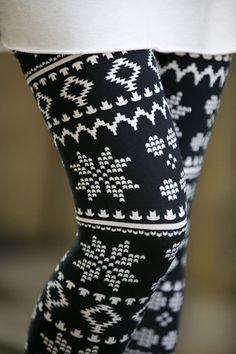 Nordic Aztec Leggings