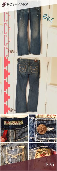 """BKE Culture Jeans BKE Culture jeans, super comfy! Size 31""""x31"""". In great shape! BKE Jeans Boot Cut"""