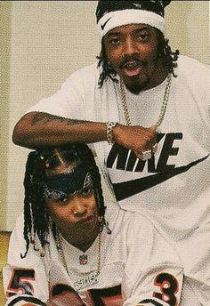Jermaine Dupri x Da Brat 90s Hip Hop, Hip Hop And R&b, Hip Hop Rap, Hiphop, New School Hip Hop, Arte Do Hip Hop, Jermaine Dupri, Looks Hip Hop, Da Brat