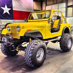 Jeep CJ7 1979.The yellow one.