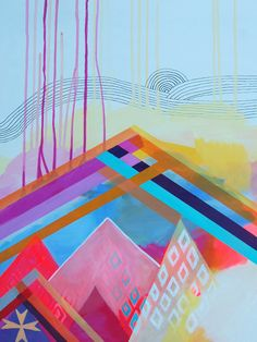 Geometric Art--Windstorm