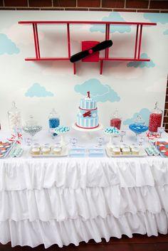 "Photo 3 of 12: Vintage Aeroplane Party / Birthday Party ""Vintage Aeroplane Party"" | Catch My Party"
