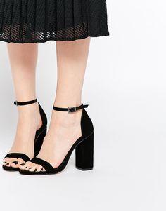 Image 1 ofASOS HERE GOES Heeled Sandals