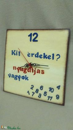 Humoros falióra (aKataArt) - Meska.hu Kirigami, Diy And Crafts, Jokes, Gift Ideas, Kit, Signs, Birthday, Wall, Cards