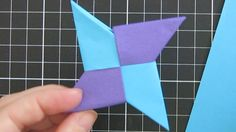 How to make an ORIGAMI NINJA STAR!