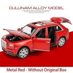 Rolls Royce / Freeshipping Rolls Royce Cullinan, Light Pull, Metal Models, Matte Black, Diecast, Canning, Scale, Kids, Doors