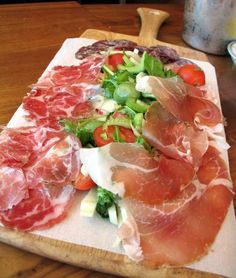 Prosciutto Di Cinghiale (Wild Boar) ... just about my favorite thing in the world.