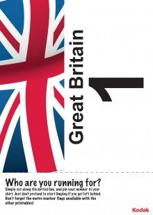 Print off this fantastic Kodak running bib, to represent Great Britain in the London 2012 games! iChild.co.uk