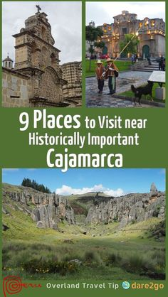 The city and region of Cajamarca, in the north of Peru, are historically very important. The area was home to several pre-Columbian high cultures, who left numerous ruin sites behind. The invading Spaniards killed the last Inca king in this city, which led to the quick fall of the Inca empire. Our post shows you 9 places you should not miss near Cajamarca.