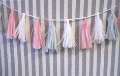 KNOTTY BLOGGISTA WEEK!   DIY Mini Tassel Garland by DIY Bloggista Natalie, of Mint Love Social Club!
