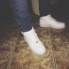 White Air Force 1!!! A must have!!!