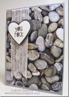 LeAnne Pugliese WeeInklings You Rock Stampin Up Masculine Valentine