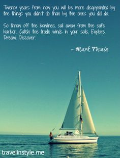 Sail Away From The Safe Harbor
