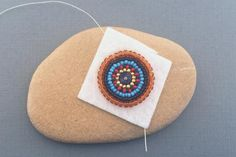 Learn Backstitch, the Main Bead Embroidery Stitch: Backstitch Bead Embroidery