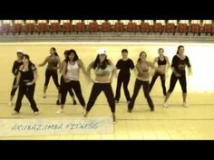 A salsa #zumba routine by Aruba Zumba. Song: La Palomita.