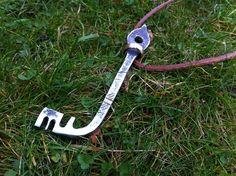 Medieval iron key.