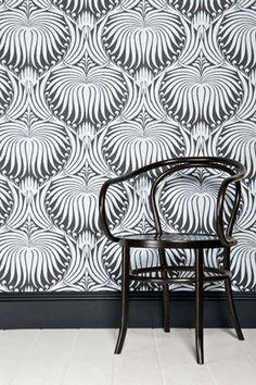Emily Henderson — Stylist - BLOG-- farrow and ball wallpaper