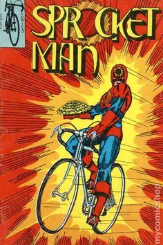 Sprocket Man - 1975 Comic Book Bring Back Sprocket Man!
