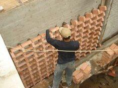 WEBSTA @ sonny_sutanto_architect - The Haven Berawe Brick Design, Gate Design, Vertikal Garden, Brick Detail, Vertical Garden Design, Brick Art, Concrete Bricks, Brick Garden, Brick Architecture