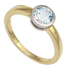 Dreambase Damen-Ring 1 Blautopas 14 Karat (585) Gelbgold 1 Topas 60 (19.1) Dreambase http://www.amazon.de/dp/B00N5BX3GO/?m=A105NTY4TSU5OS