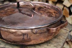 Copper tin Pot handmade by LaCasadelRame