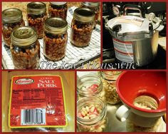 We're sisters who like to cook and bake, talk cooking and baking, and share recipes and kitchen wisdom. Home Canned Boston Style Beans