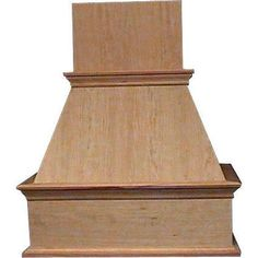 "Range Hoods 30"", 36"", 42"", and 48"" Wooden Wall Mounted"