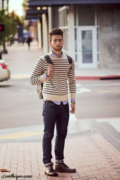 Not every preppy look has to involve cable knits, boat shoes, and polos