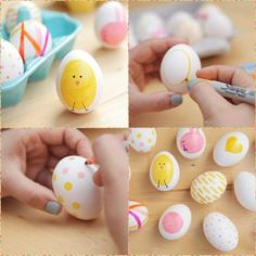 Как украсить яйца по-особенному