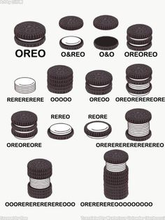 Just in case you were wondering what your style of Oreo is called. – Just in case you were wondering what your style of Oreo is called. Crazy Funny Memes, Really Funny Memes, Stupid Funny Memes, Funny Pins, Funny Relatable Memes, Haha Funny, Funny Stuff, Puns Hilarious, Random Stuff