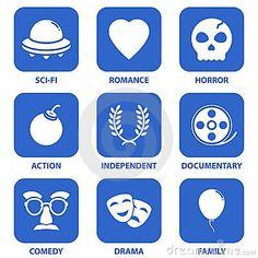 Movie pictograph
