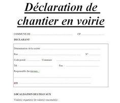 Attestation sur l 39 honneur word doc avo pinterest essayer et projet - Declaration de fin de travaux ...