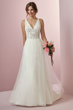 by Rebecca Ingram Wedding Dresses Rebecca Ingram - CONNIE, This boho wedding dress features a sheer bodice accented in allover lace.Rebecca Ingram - CONNIE, This boho wedding dress features a sheer bodice accented in allover lace. Boho Wedding Dress, Boho Dress, Lace Dress, Bling Dress, Bling Wedding, Lace Wedding, Wedding Dress Straps, Organza Dress, Wedding Summer