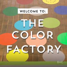 The Color Factory will take you on a rainbow-inspired ride. Watch this video to go on a magical adventure.