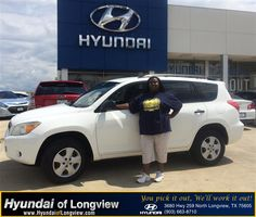 As a first time car buyer, I had the greatest experience ever. Good Christian people to work with. Big thanks to my sales person Danny Belew for making it all happen. <3 Hyundai of Longview <3  Florence West Saturday, August 30, 2014