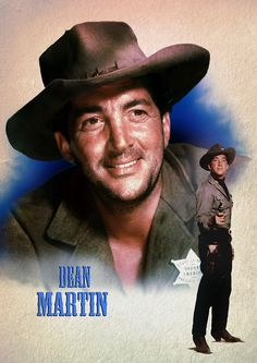 Dean Martin in Rio Bravo. Hollywood Actor, Classic Hollywood, Dean Martin Movies, Callum Keith Rennie, Martin King, John Wayne Movies, Celebrity Singers, Jerry Lewis, Old Movie Stars